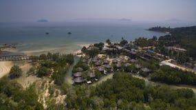Aerial view of payam island ranong province andaman sea southern. Of thailand Stock Image