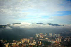 Aerial view of Penang, Malaysia Royalty Free Stock Photography
