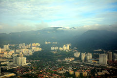 Aerial view of Penang, Malaysia Royalty Free Stock Images