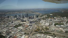 Perth downtown aerial