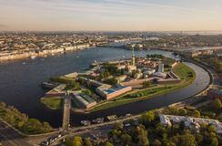 Peter and Paul Fortress in Saint-Petersburg Royalty Free Stock Image