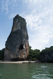 Aerial view Phang Nga Bay Marine National Park protected and of international ecological significance wetlands forestation Stock Images