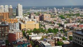 Aerial View of Philadelphia Stock Image