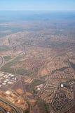 Aerial View of Phoenix City Stock Photos