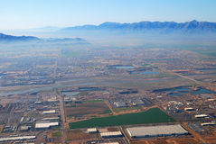 Aerial view of Phoenix city, Arizona Royalty Free Stock Photos