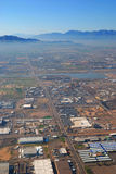 Aerial view of Phoenix city, Arizona Stock Photos