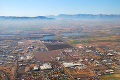 Aerial view of Phoenix city, Arizona Stock Photo
