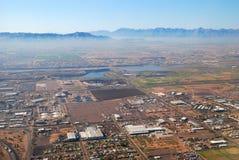 Aerial view of Phoenix city, Arizona Stock Photo
