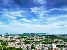 Aerial view of Phuket island Stock Image