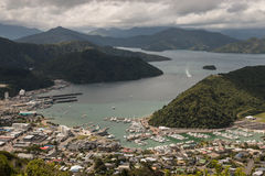 Aerial view of Picton Royalty Free Stock Image