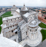 Aerial View Of Pisa Cathedral Stock Images