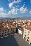 Aerial view of Pistoia Tuscany Italy Stock Photo