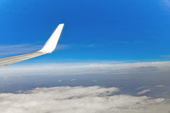 Aerial view from the plane Royalty Free Stock Image