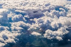 Clouds above Montenegro Stock Images