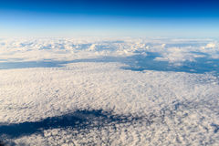 Aerial View Of Planet Earth As Seen From 40.000 Feet. Altitude royalty free stock photos
