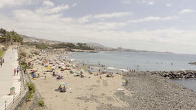 Aerial view of Playa de Las Americas in Tenerife, Canary Islands Stock Photography