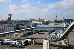 Port of Tallinn, Estonia Stock Photography