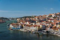 Aerial view of Porto Oporto, Portugal Stock Images