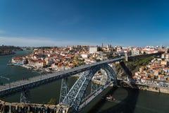Aerial view of Porto Oporto, Portugal Stock Image