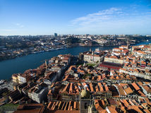 Aerial view of Porto, Portugal Royalty Free Stock Image