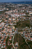 Aerial view of Portugal Royalty Free Stock Photo