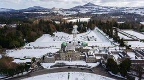 Free Aerial View. Powerscourt Gardens. Wicklow. Ireland Stock Photography - 112810492