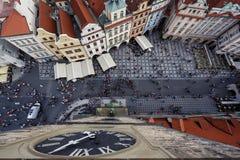 Aerial view of Prague, Czech rebublic Royalty Free Stock Photo