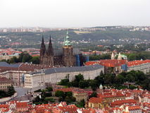 Aerial view of  Prague. Czech Republic. Royalty Free Stock Photography