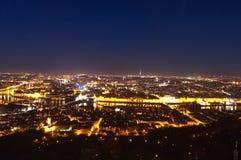 Aerial view of Prague, Czech Republich stock photos
