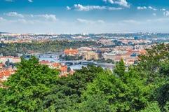 Aerial view of Prague Old Town, Czech Republic Stock Photos