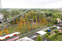 Aerial view of the Prater Stock Photos