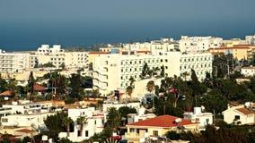 Aerial view. Protaras. Cyprus stock video