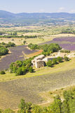 Aerial view of Provence Royalty Free Stock Images