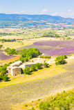 Aerial view of Provence, south of France Stock Photos