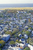 Aerial View of Provincetown, Massachusetts Stock Photos