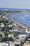 Aerial View of Provincetown, Massachusetts Royalty Free Stock Image