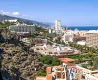 Aerial view of Puerto de la Cruz Stock Image