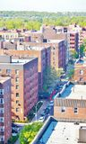Aerial view queens   new york panorama Stock Photo