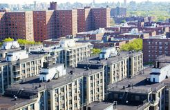 Aerial view queens   new york panorama Stock Image