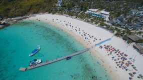 Aerial view of Racha island Phuket Andaman southern of Thailand Stock Images