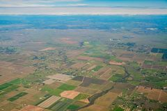 Aerial view of the Rancho Seco Nuclear Generating Station. Sacramento County, California Stock Photography
