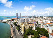 Aerial view of Recife, state of Pernambuco, Brazil Stock Photos