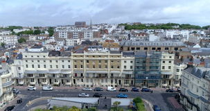 Aerial view of a regency square in Brighton and Hove