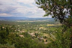 Aerial view of the region of Provence in France Stock Photography