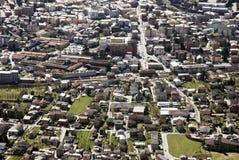 Aerial view of residential urban sprawl Stock Photos