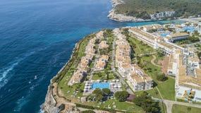 Aerial view of the resort Blau Punta Reina Royalty Free Stock Photos
