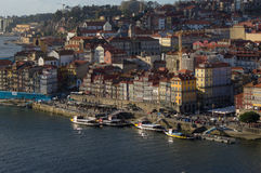 Aerial view of the Ribeira royalty free stock photos