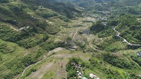 Rice terraces in the mountains. Philippines, Batad, Banaue.
