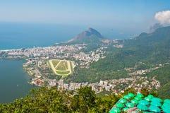 Aerial View of Rio de Janeiro, Brazil Royalty Free Stock Photos