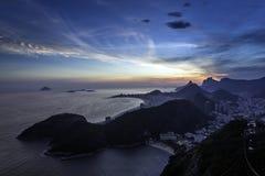 Aerial view of Rio De Janeiro Stock Photos